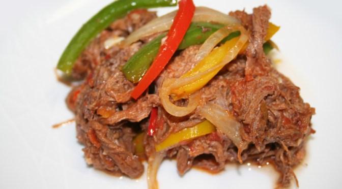 Easy Ropa Vieja (Cuban Braised Beef)