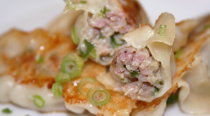 Throwback Tuesday: Dumplings, Potstickers and Ginger Limeade