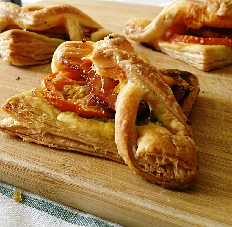 Bacon Pesto Pastries