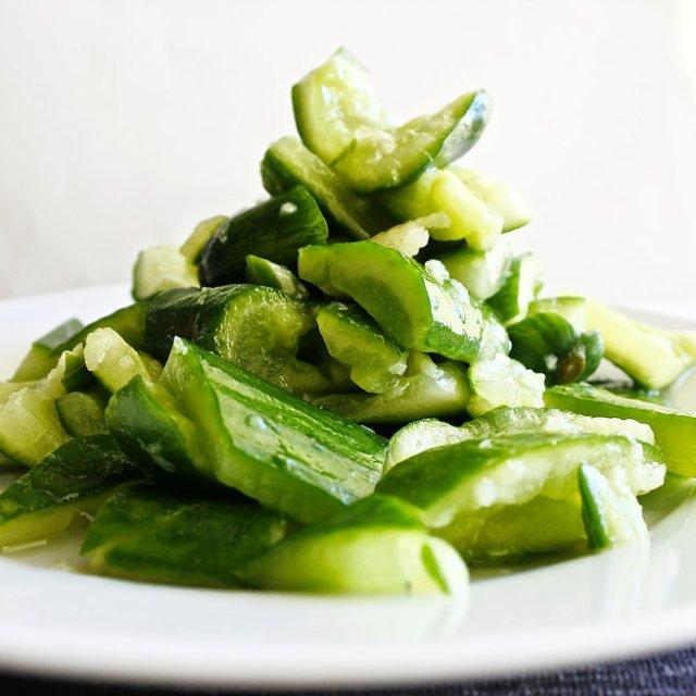 Garlic Sesame Cucumber