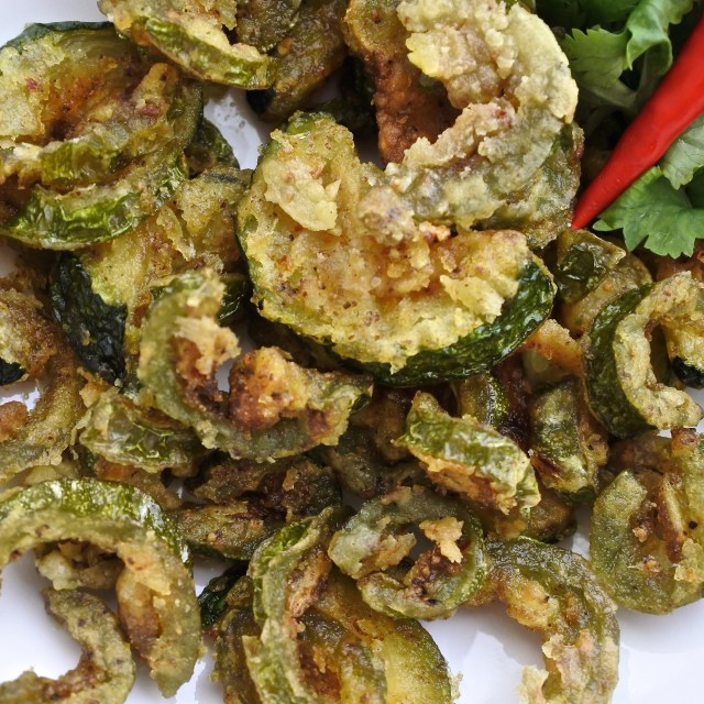 Karela chips (2)