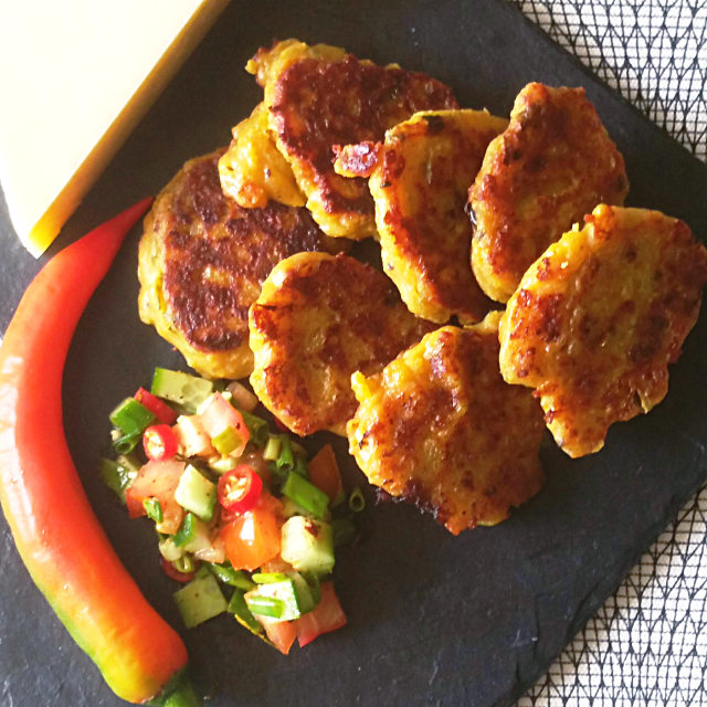 Masala Cheese Pancakes
