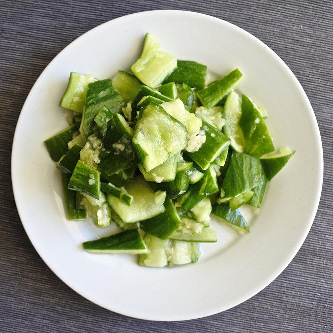 Sesame Garlic Cucumbers 2