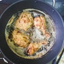 Garlic and ginger fried chicken 1
