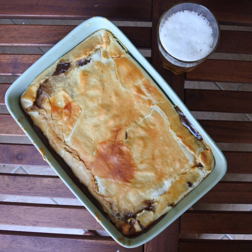 Steak and Ale Pie - Spicepaw
