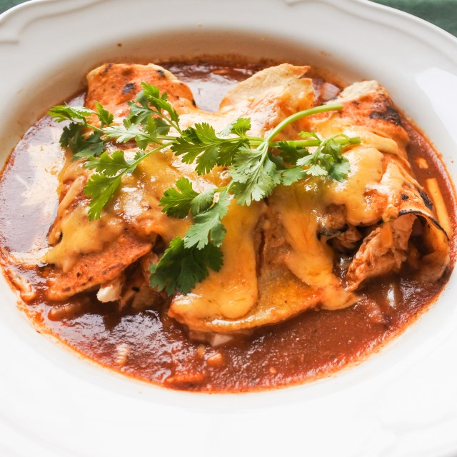 Chicken Enchiladas 10
