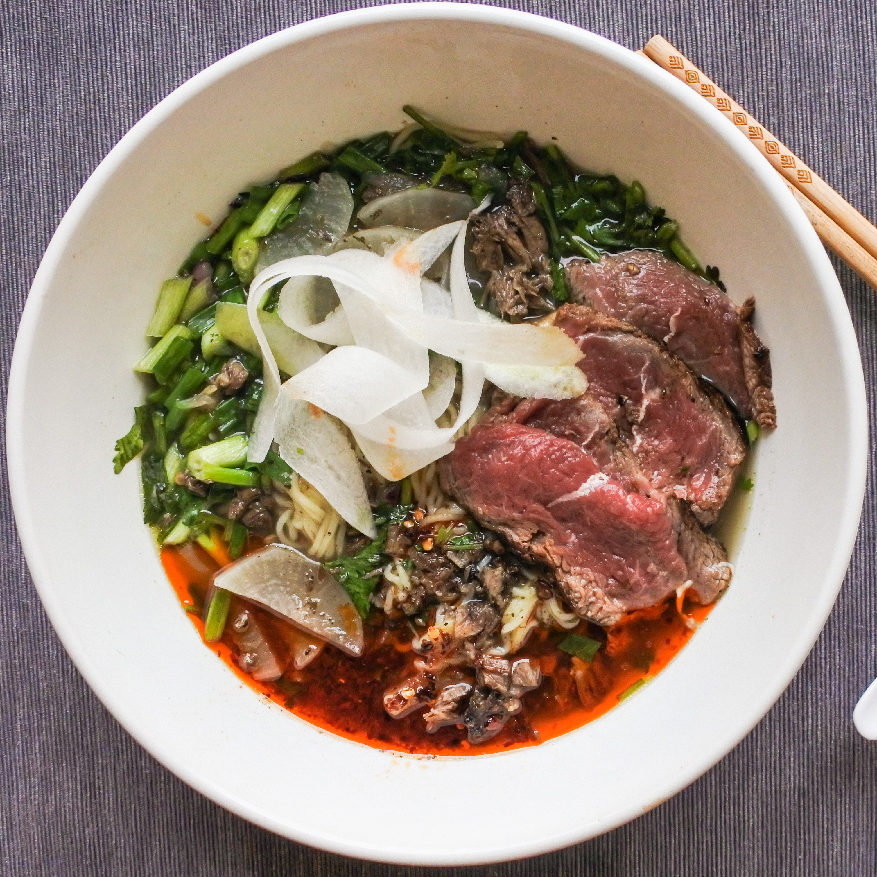 Niurou Lamian (Chinese Beef Noodle)