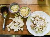 Tofu and Mushrooms in Soybean Sauce 1