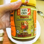 Chinese soybean paste.