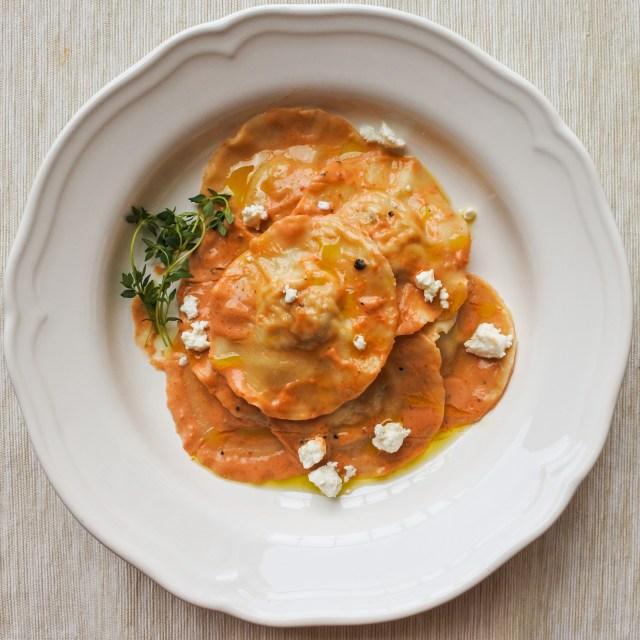 Chicken Ravioli with Sun-Dried Tomato Cream Sauce 9