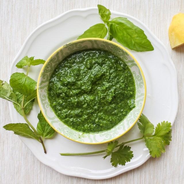 Fresh Herb Pesto 5