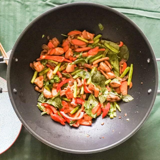 Lemongrass Chicken Stir-Fry 15