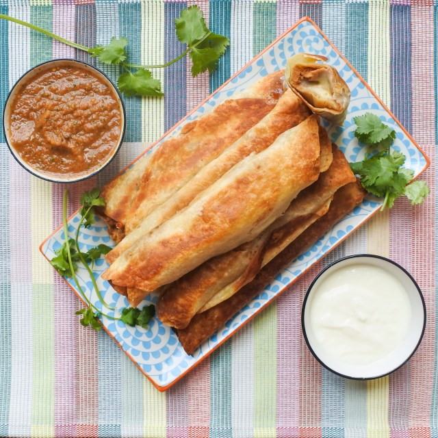 Bean and Cheese Crispy Burritos 1
