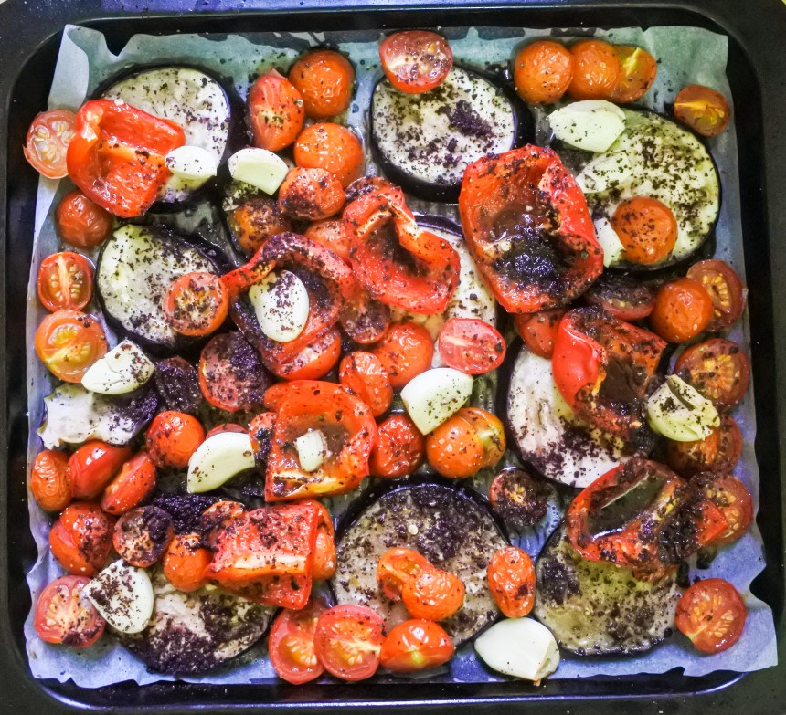 Sumac roasted vegetables