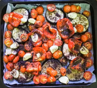 Sumac roasted vegetables
