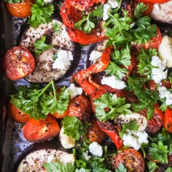 Sumac Roasted Vegetables with Feta