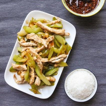 Pork and Celery Stir-fry 6
