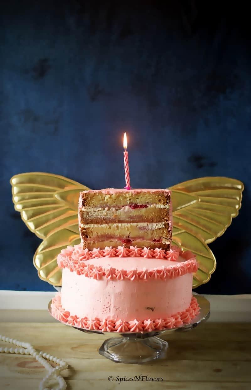 One and Half Birthday Cake  Vanilla  Strawberry  Spices