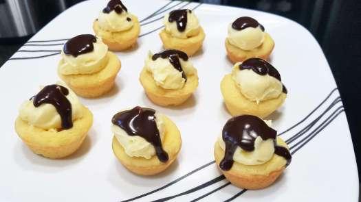 Boston Cream Pie Cookies