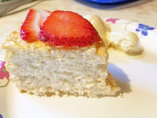 Sugar-free Angel Food Cake