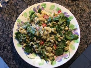 Pasta Salad at home
