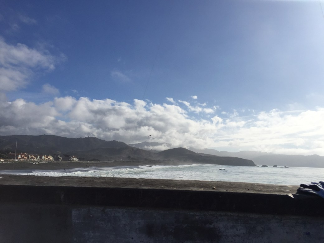 The view from Pacifica Pier