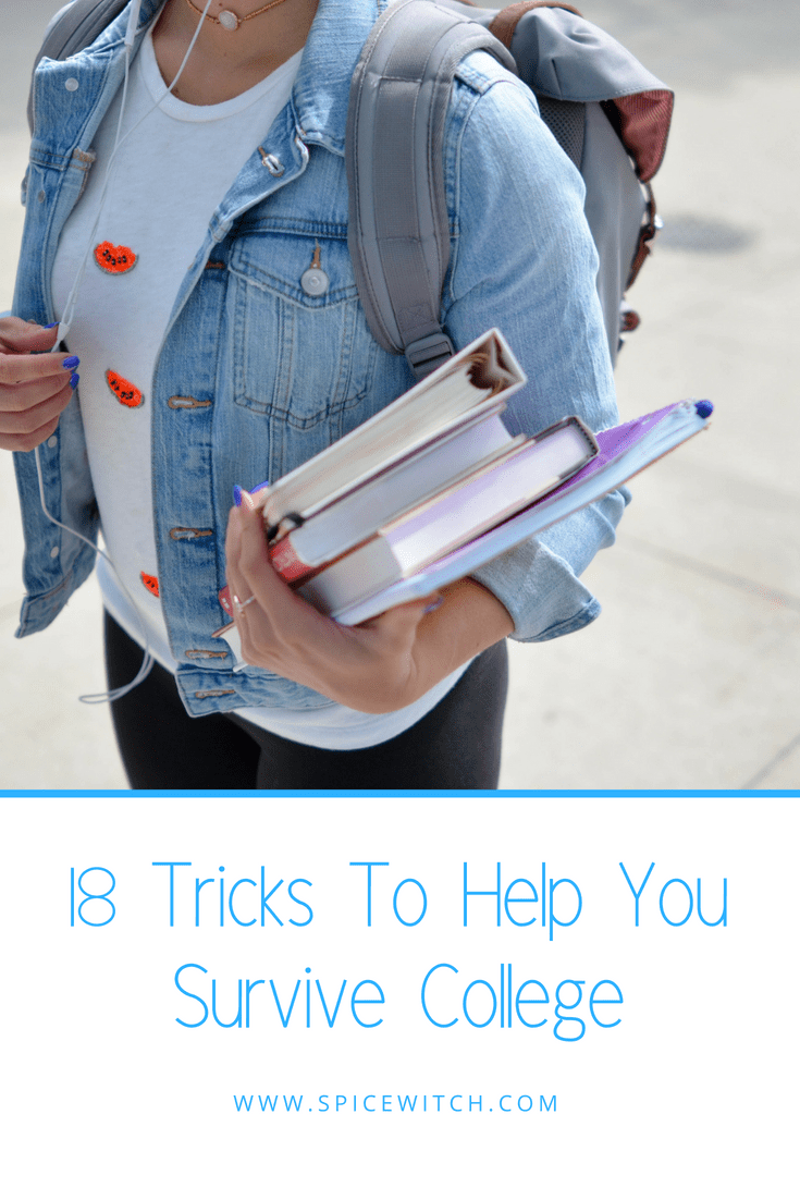 18 Tips for Surviving College
