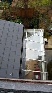 Glass roof cleaning in East Dulwich