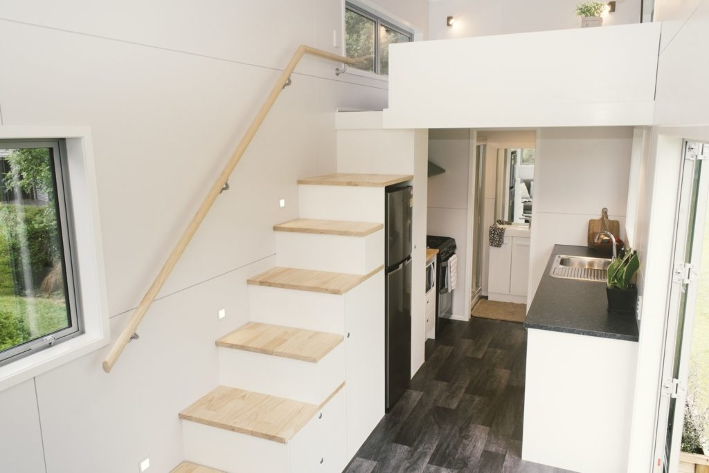 Stairs For Tiny Spaces – Spicyhappy | Stair Plans For Small Spaces | Residential | Simple | Backyard Cottage | Fine Homebuilding | Small Opening