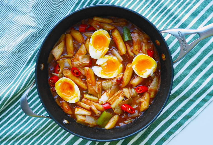 Korean spicy rice cake_5