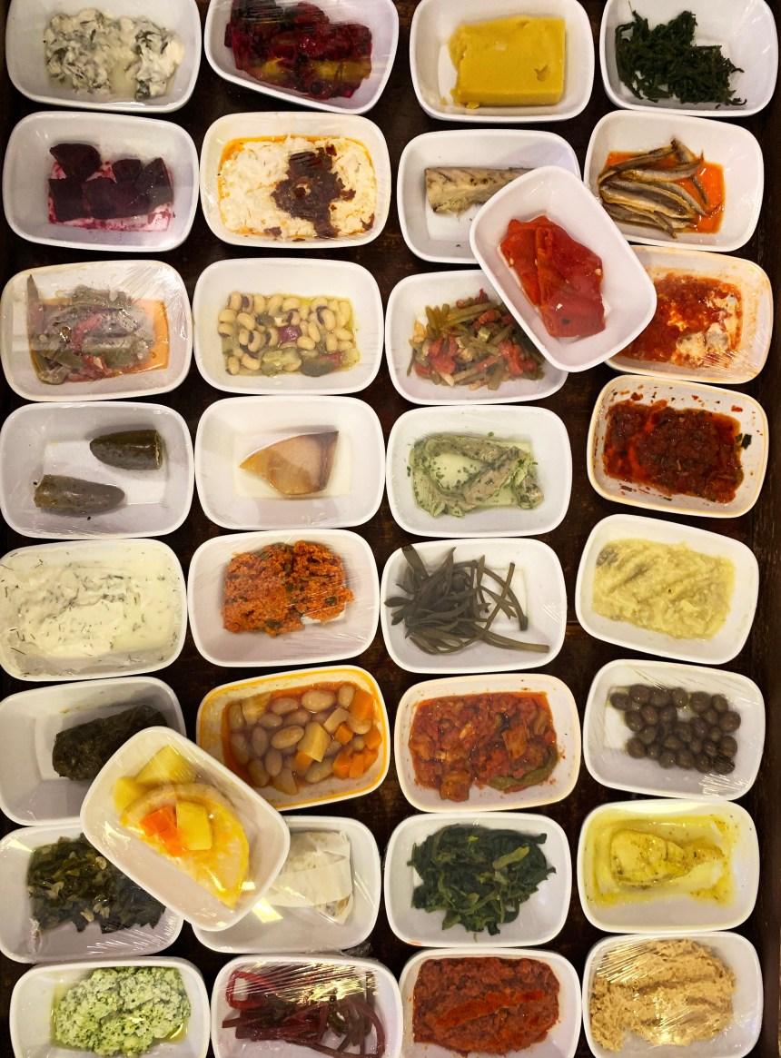 Turkish Meyhane Meze