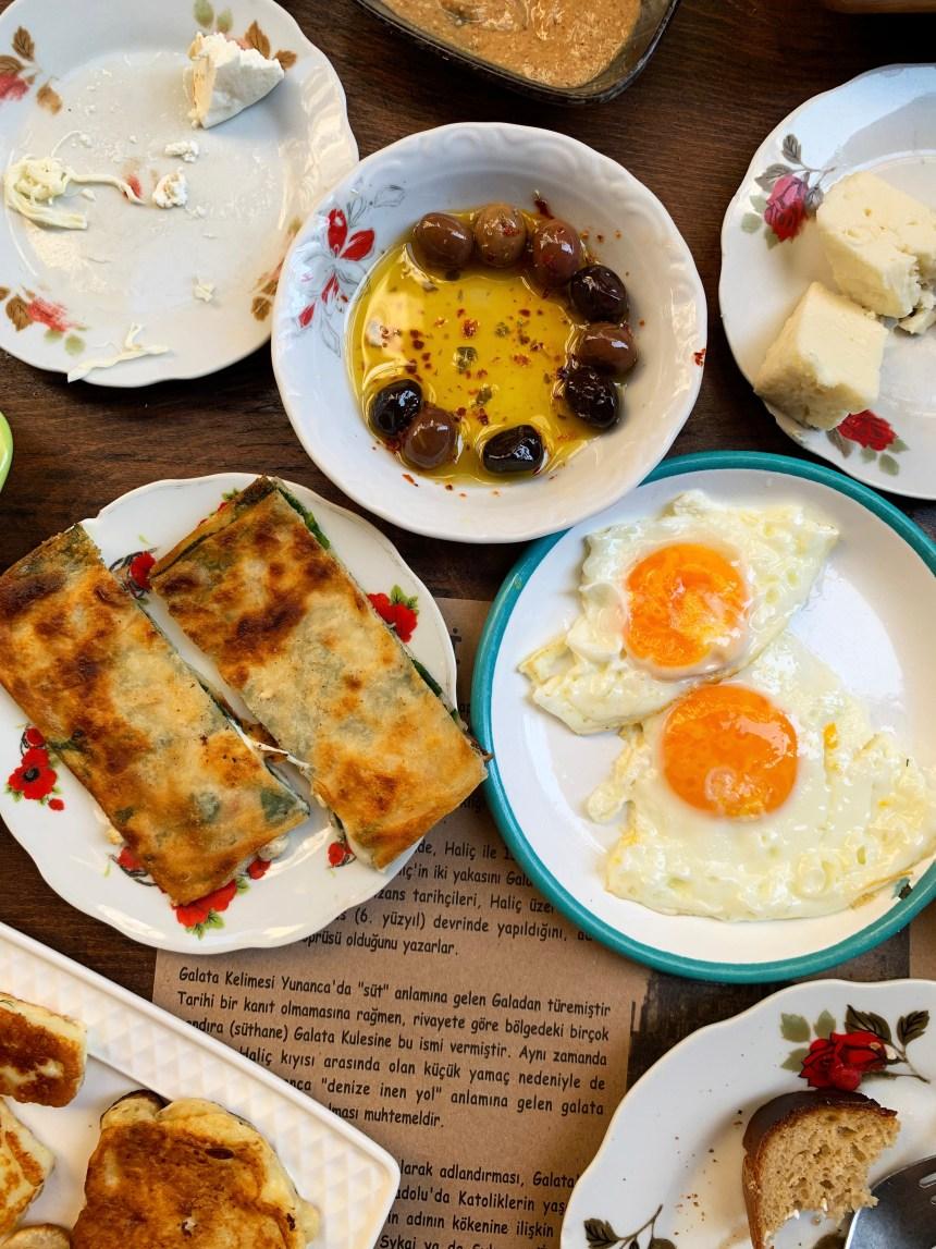 Turkish village breakfast