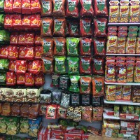 A Wall Full of Japanese Snacks