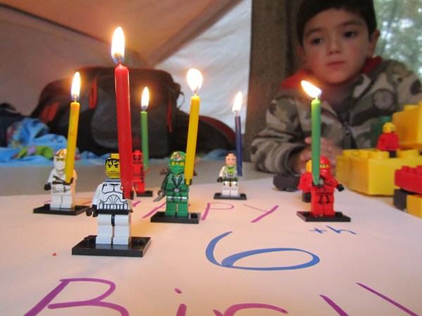 Lego Ninjago Birthday Cake Candles