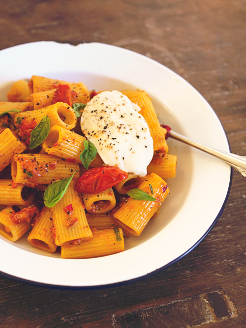 Roasted Tomato Penne alla Vodka