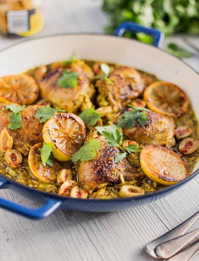 One Pot Moroccan Chicken