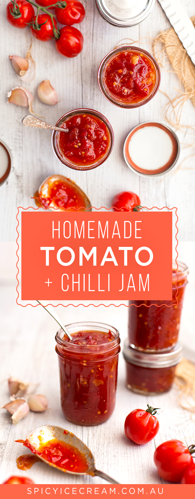 Homemade Tomato Chilli Jam