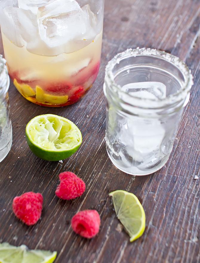 Raspberry Ginger Margarita