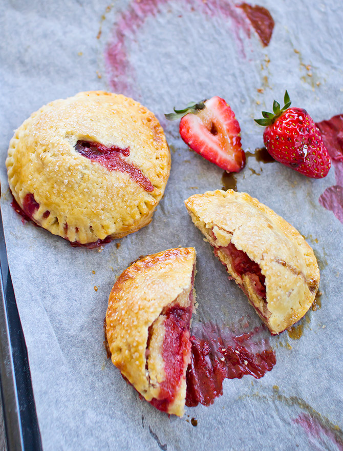 Strawberry Balsamic Hand Pies