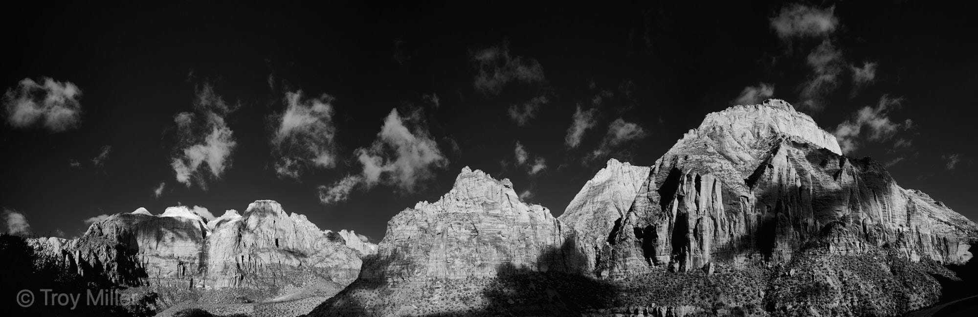 Zion Infrared pano shot with the Nikon Z6