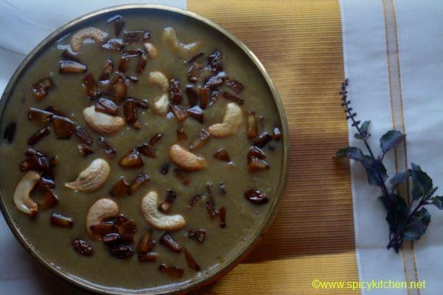how to make pazham pradhaman