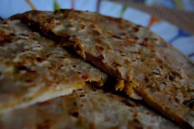 soya-keema-paratha-recipe
