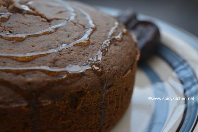 how to make dates honey cake