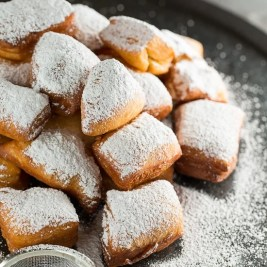 Homemade New Orleans Beignets