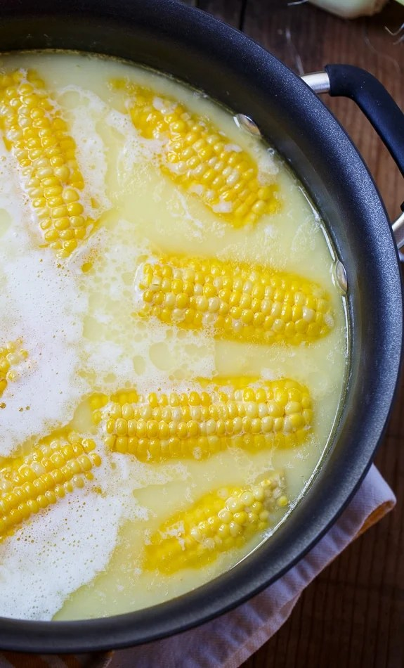 how to make corn in microwave oven