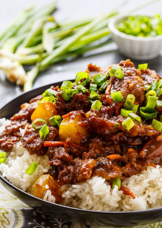 Spicy Mongolian Beef and Pineapple  Spicy Southern Kitchen