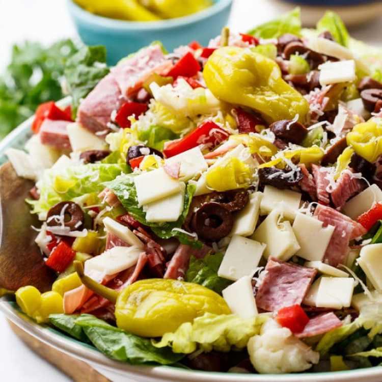 Daily Dinner Ideas: Muffaletta Salad