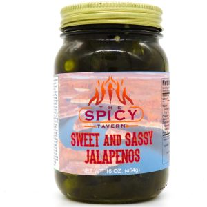 Sweet and Sassy Jalapenos