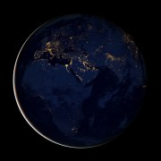 """Awesome 5+ Wallpapers of """"Earth at Night"""" From NASA Satellite [UPDATE]"""