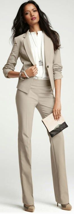Beige is another neutral color to try if you're tired of the grays and blacks.